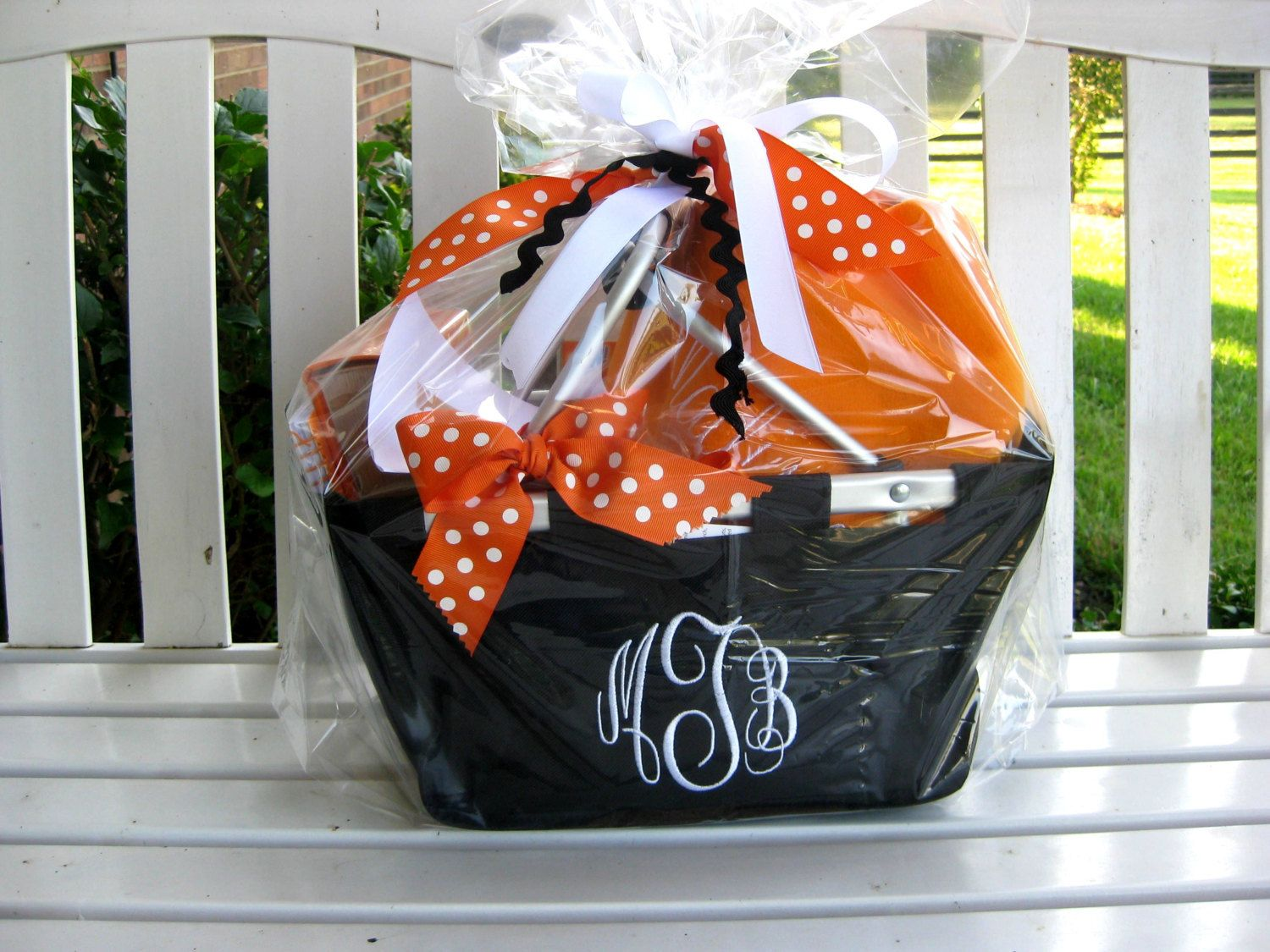 Custom gift basket college care package for by