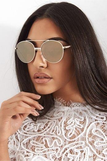 Sunrise Gold T Bar Sunglasses The Fashion Bible LqOgvtfi