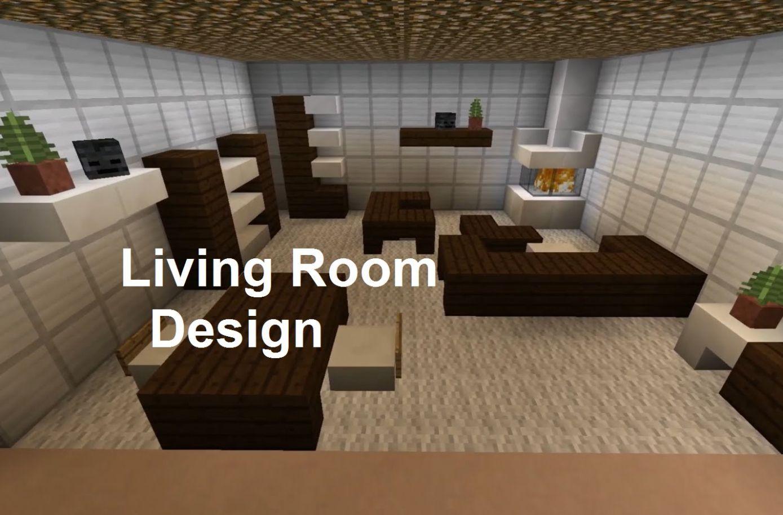 Minecraft Modern Living Room Neutral Interior Paint Colors - Minecraft aubergewohnliche hauser