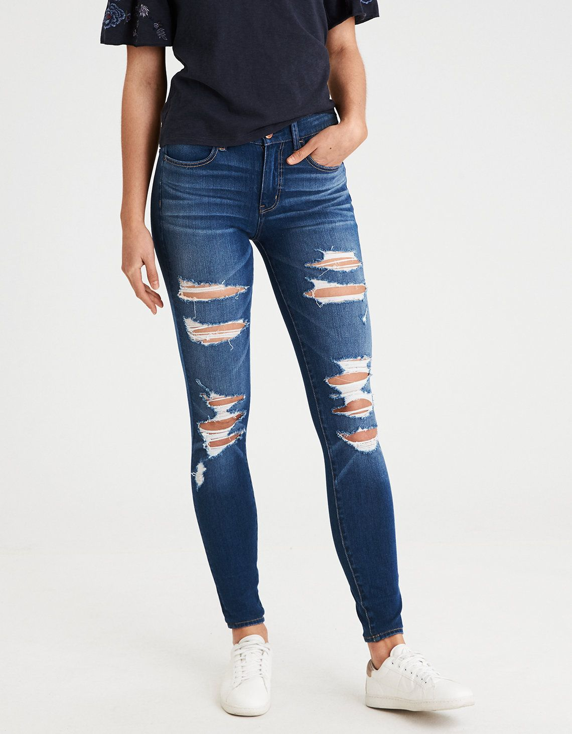 73c7b88ee17 They kinda look exactly like my Hollister jeans/jeggings. May have to hunt  these down.