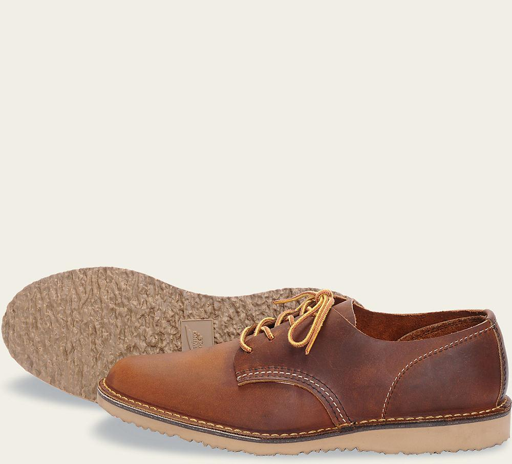 Red Wing 3303 Weekender Oxford - Copper in 2019 | Clothes