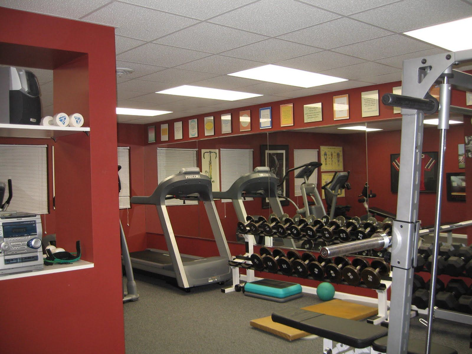 1000+ images about Home gym ideas on Pinterest Modern basement ... - ^