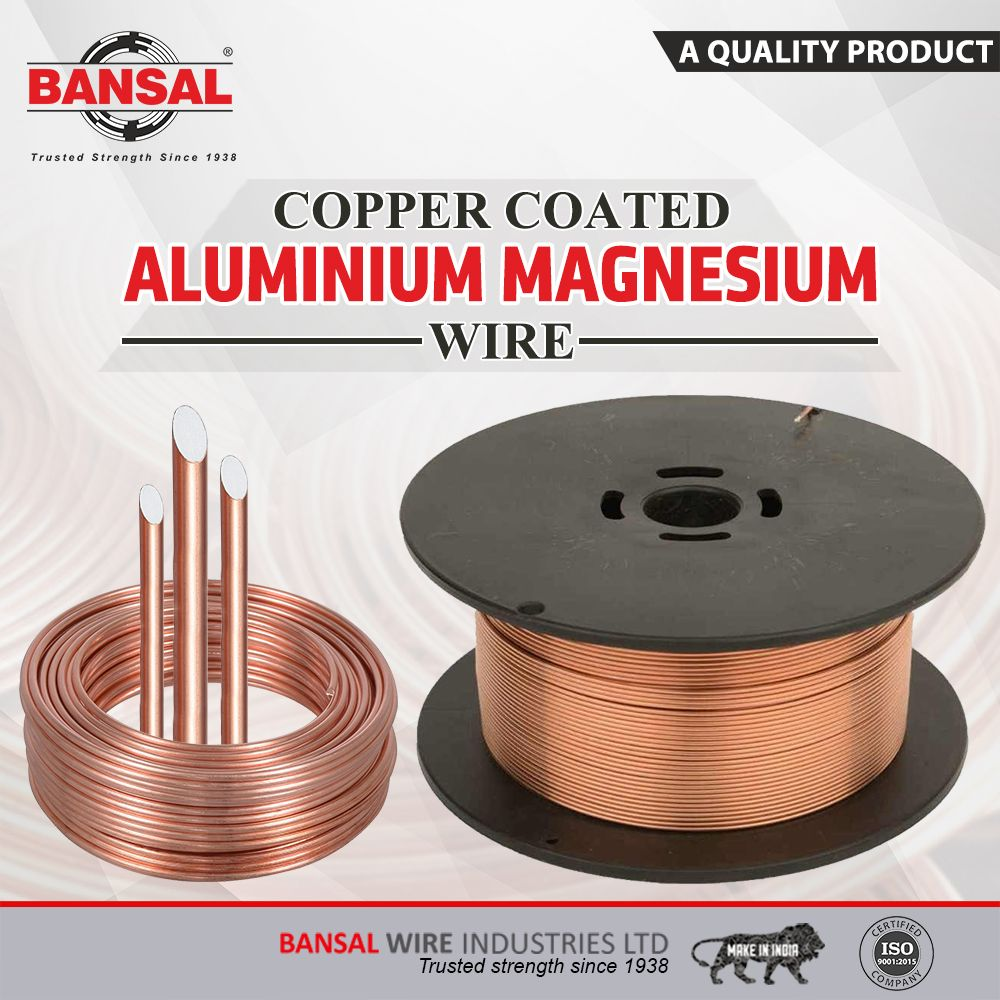 Bansalgroup Copper Coated Steel Wire Commonly Abbreviated As Ccs Is An Electrical Conductor Composed Clan In Electrical Conductor Aluminium Alloy Wire Mesh