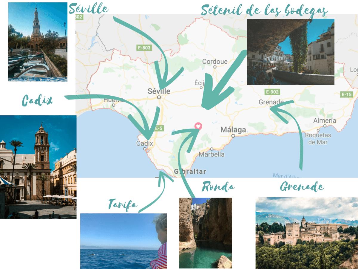 Road Trip En Andalousie Avec Des Enfants Itineraire Et Villages Voyage En Andalousie Andalousie Road Trip