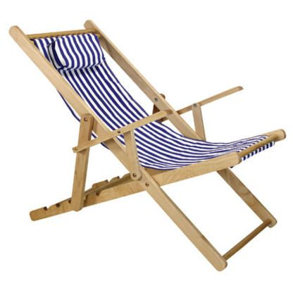 Casual Home Sling Chair   Color: Royal Cabana