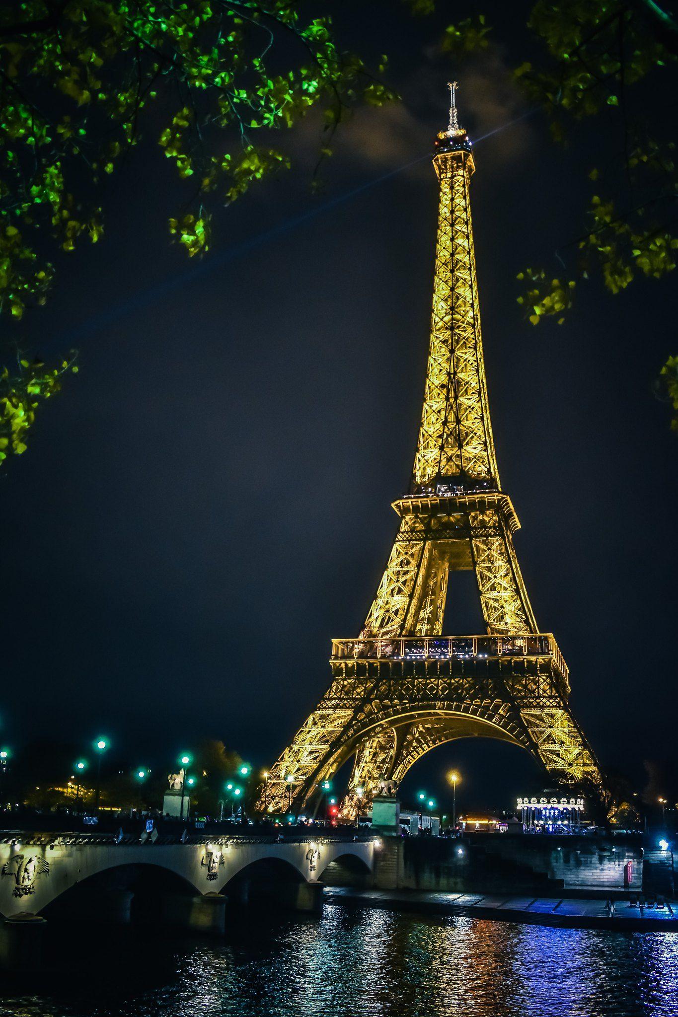 Trisha A J S 248 Eiffel Tower At Night Tour Eiffel Evil Tower