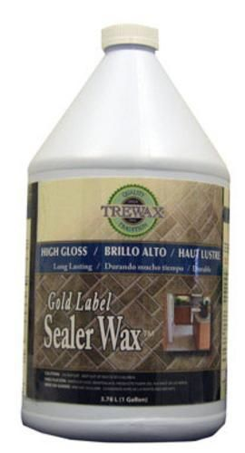 Trewax 887171967 Gold Label Sealer Wax 1 Gallon Outdoor