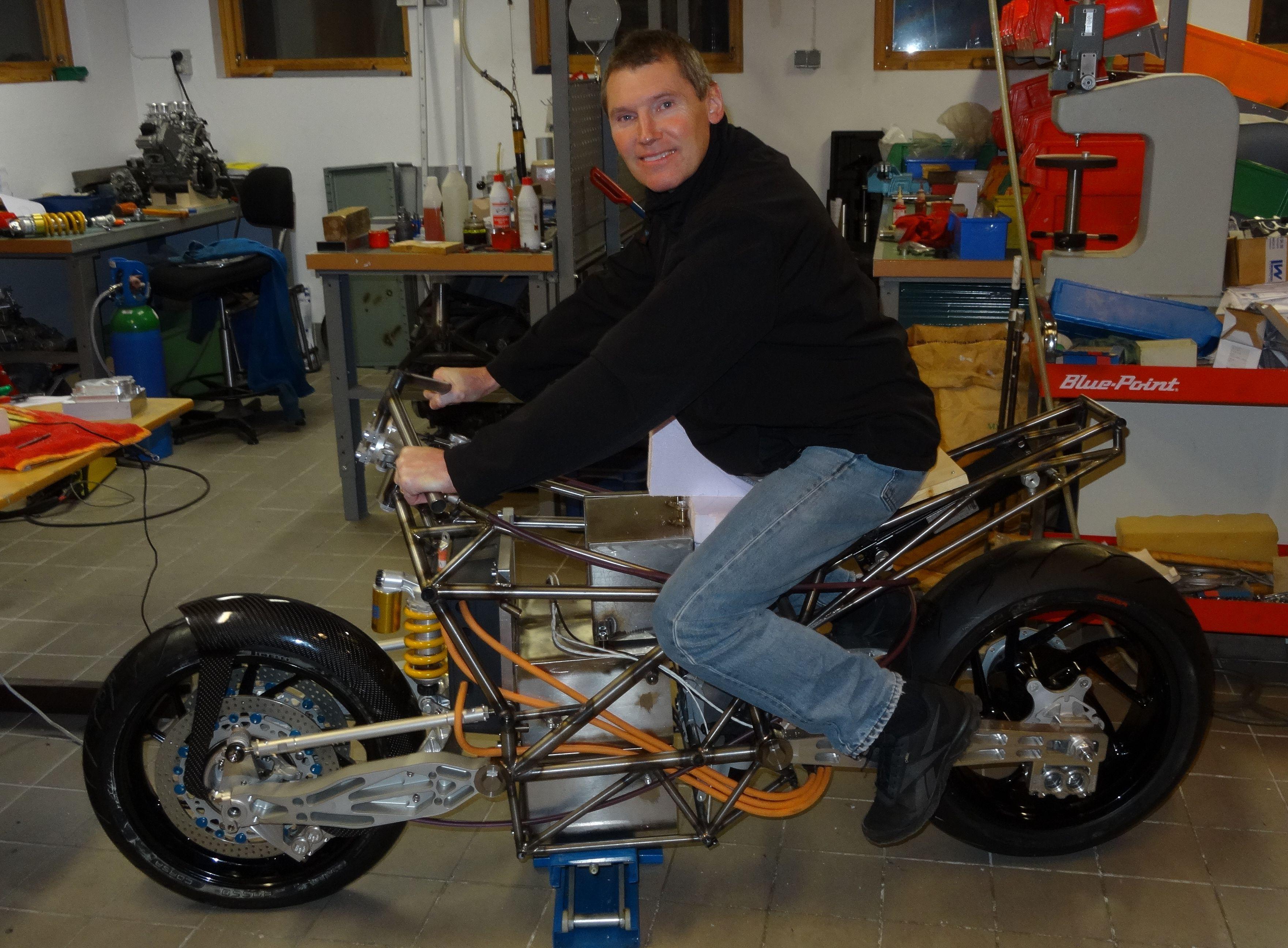 Image result for hub center steering stationary bike