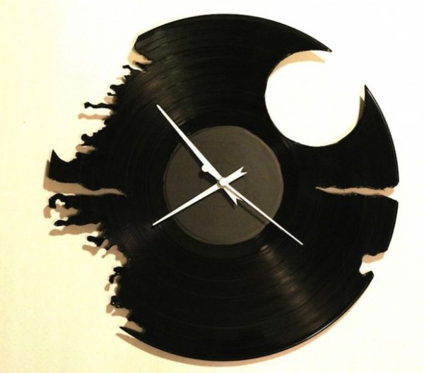 handgemachter Schallplatten Schmuck