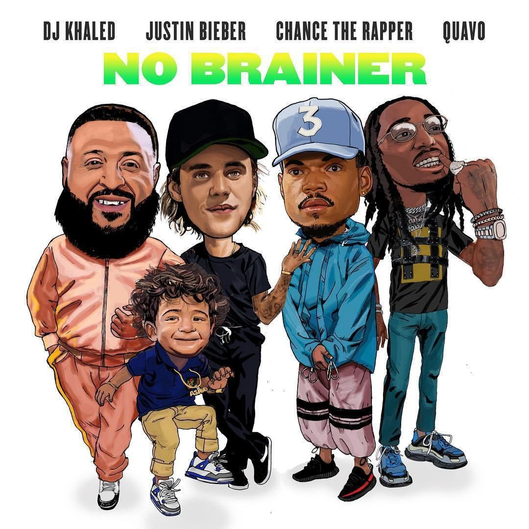 Download Dj Khaled No Brainer Ft Justin Bieber Chance The
