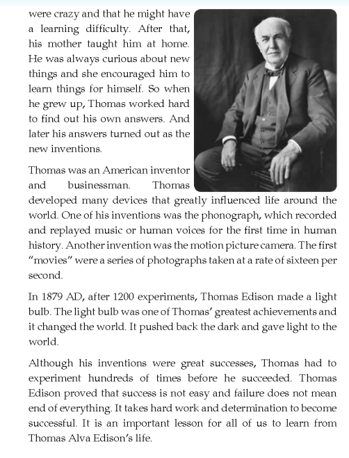 thomas alva edison essay Failure happens it happens all the time, to everyone, and sometimes can have a  bad effect on us depending on the way we react to it failure.