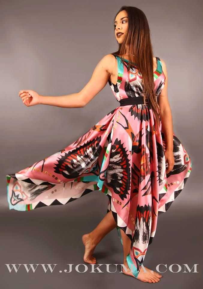 American Indian Prom Dress