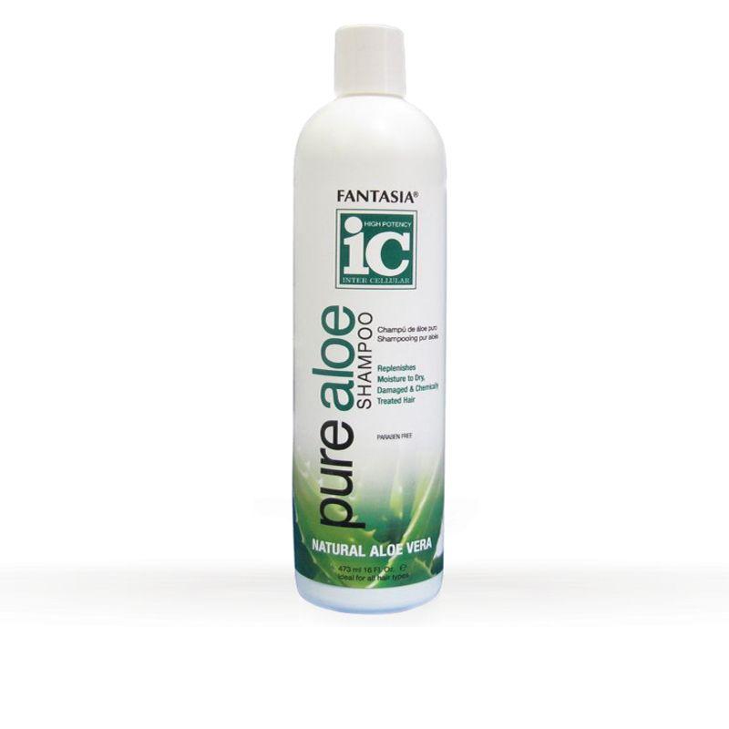 Fantasia ic pure aloe Shampoo 473ml.