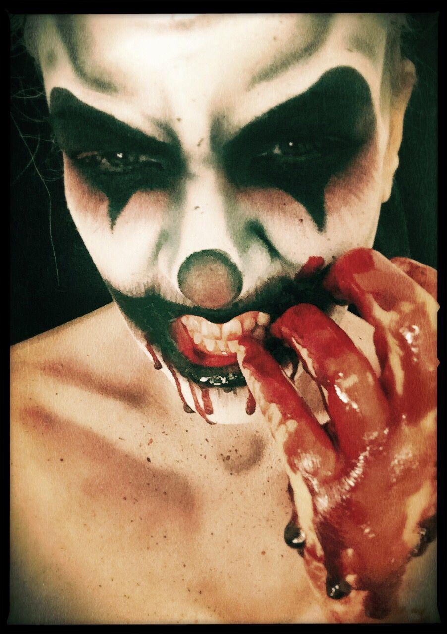 mua rebecca morgan clown scary halloween makeup halloweenmakeup makeupartist - Phobia Halloween