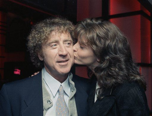 Joan Severance and Gene Wilder