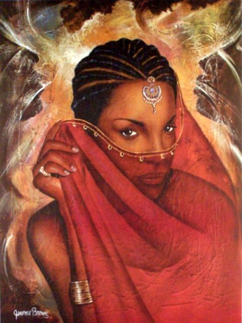 Inspirational Black Art : Beautiful black women inspirational art website news