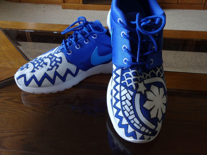 Custom Nike Roshe Run. Filipino inspired. Size Boys 6Y.   Me