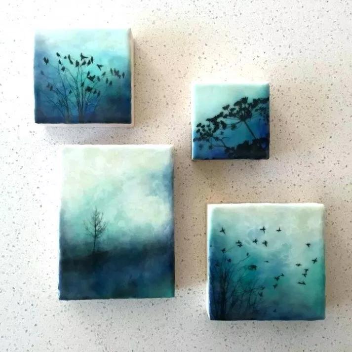 Small Canvas Painting Ideas Art Painting Idea Is A Full Time Artist Small Painting Ideas Small Canvas Paintings Art Painting Encaustic Art