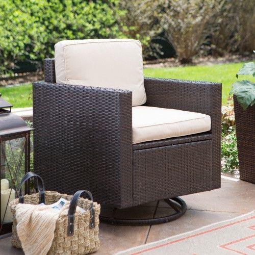 Wicker Patio Furniture No Cushions