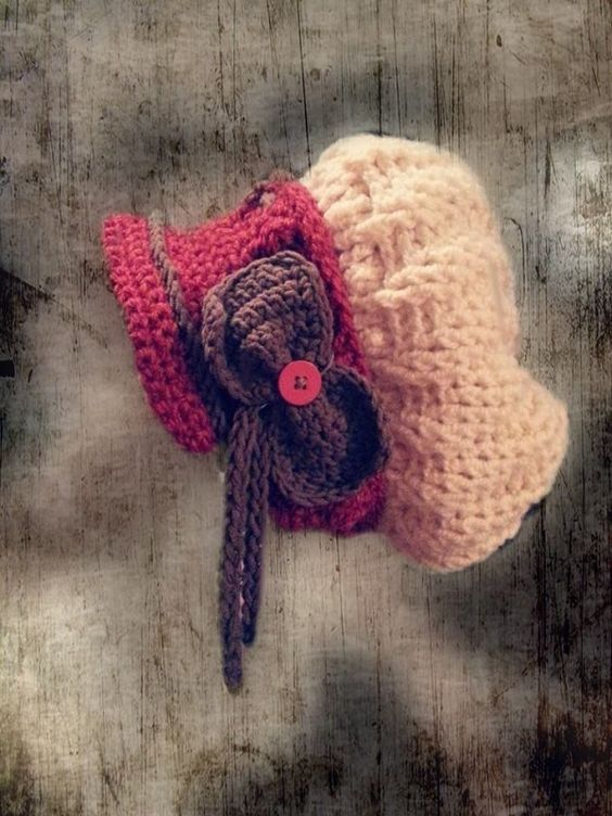 Damen-Mütze Retro-Design selber häkeln | Häkeln Jacken, Mützen und ...