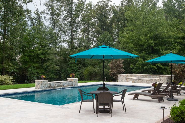 Outdoor Living Pool And Patio Pertaining To Creative Patio