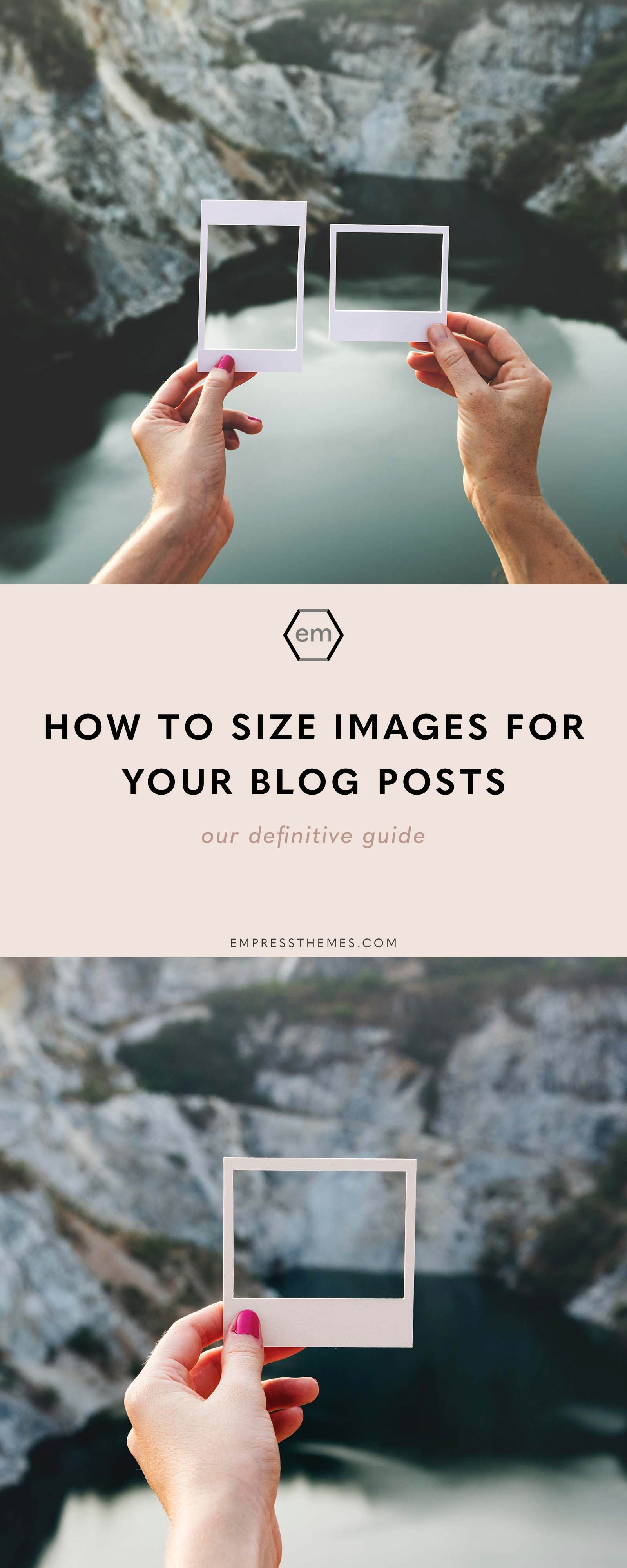 How to Size Images for Your Blog Blog, Seo tips