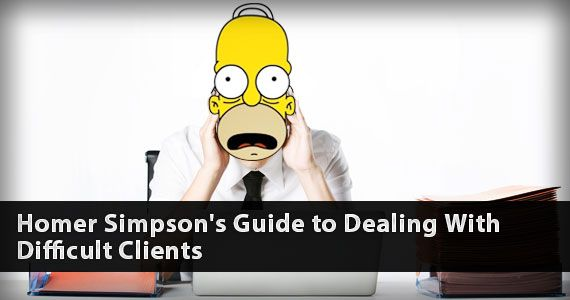 Homer Simpsonu0027s Guide to Dealing With Difficult Clients - digital editor job description