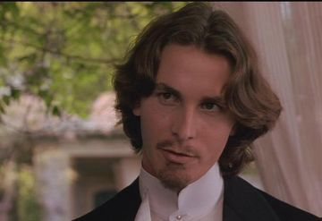Christian Bale, where i discovered him, in Little Women as Laurie