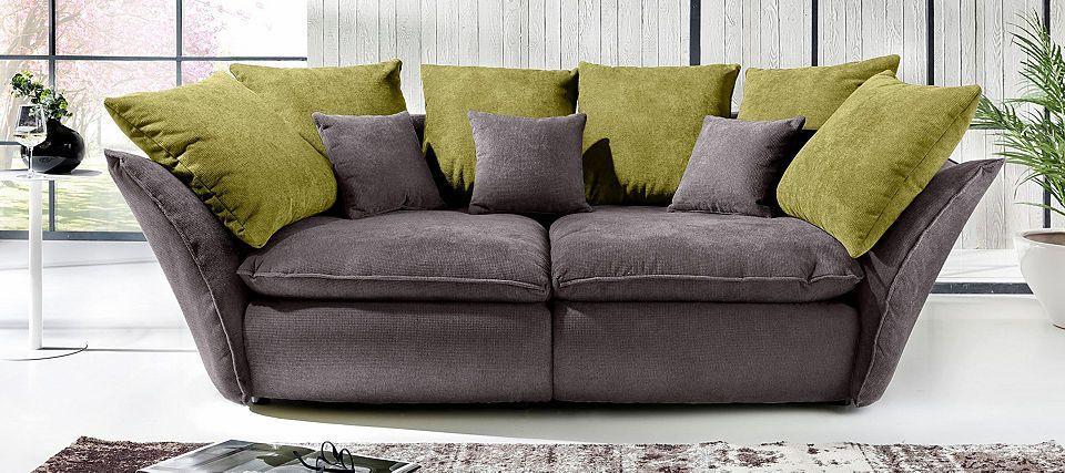 Home affaire Big-Sofa «Heartbeat», mit vielen, losen Kissen Jetzt - big sofa oder wohnlandschaft