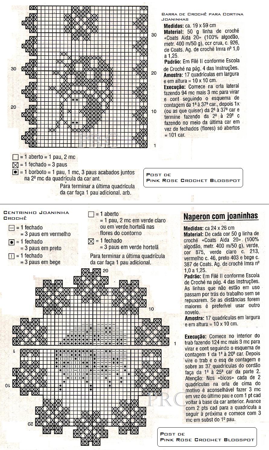 Centrinho+e+Barra+Joaninha+em+Croche+gr.PNG (891×1489) | croche ...