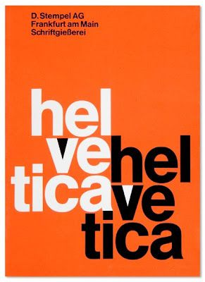Orange Helvetica