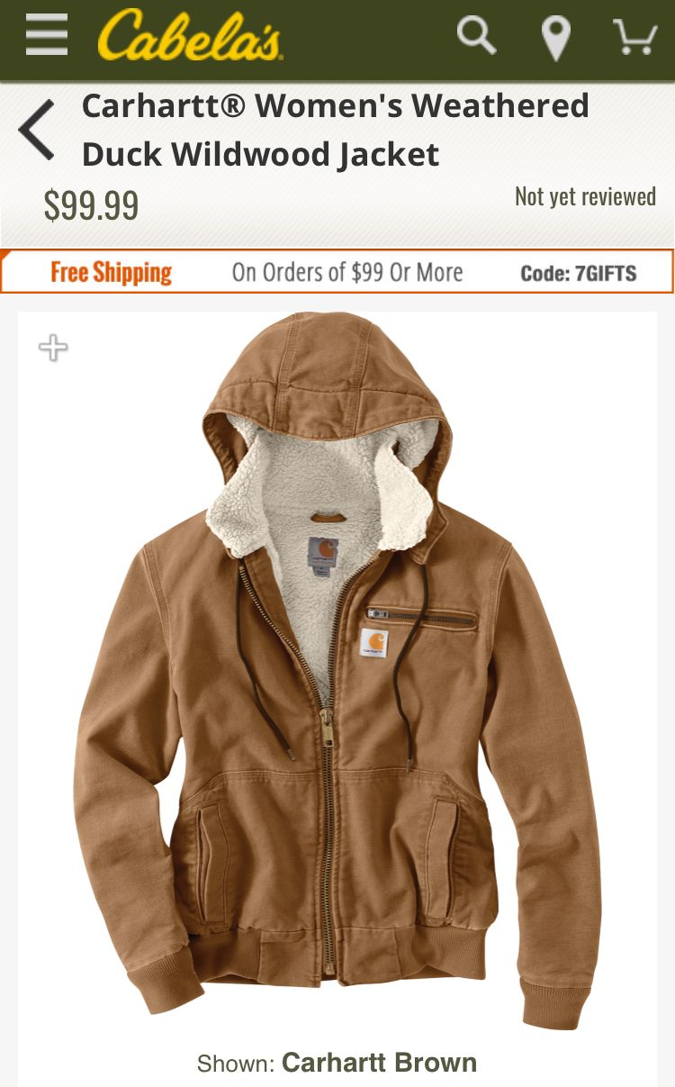 f2ae0579e Carhartt Woman's Fleece Jacket Duck | Clothes + Shoes in 2019 ...