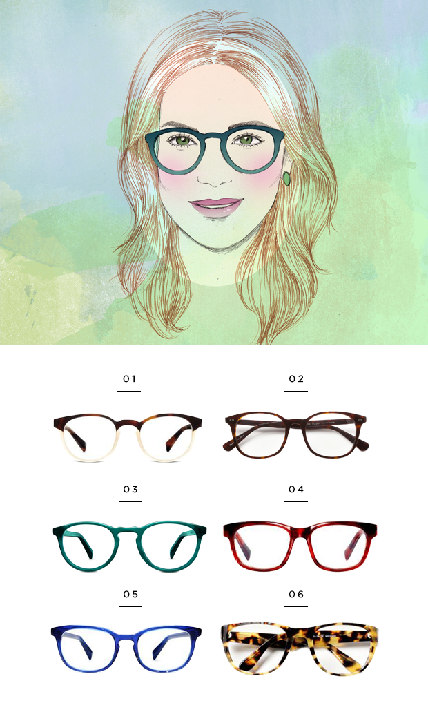 8c897ef1c81b The Most Flattering Glasses for Your Face Shape