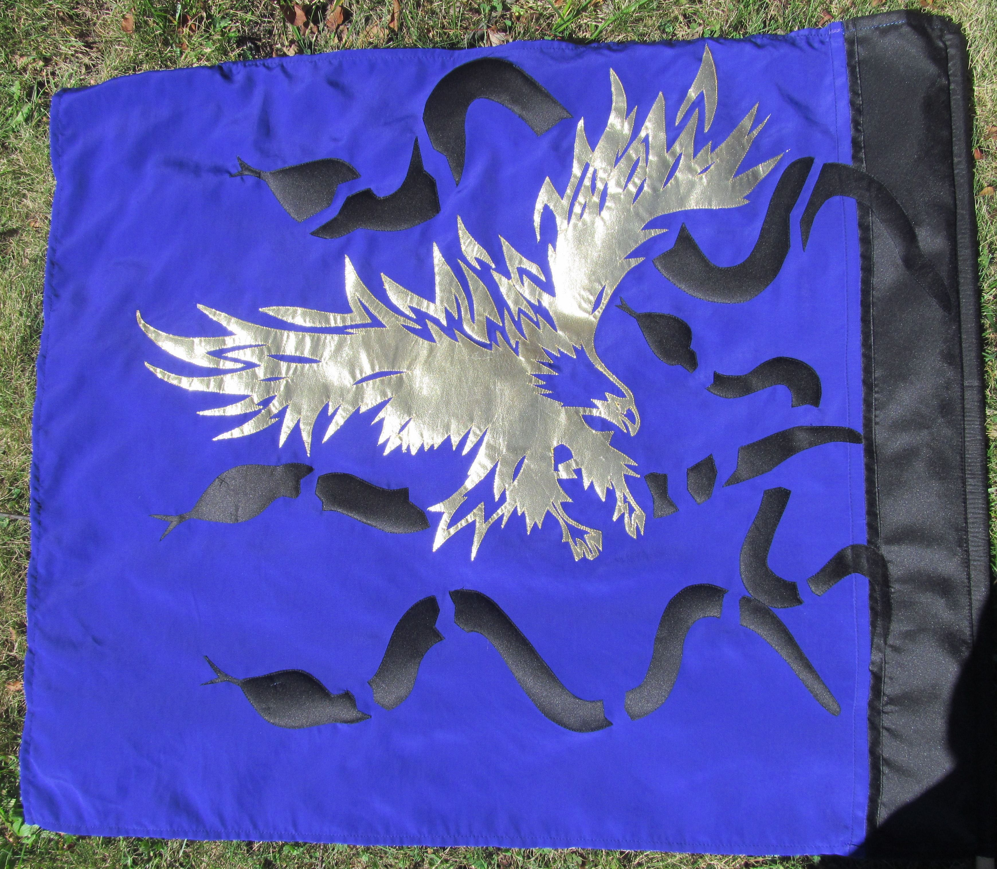 Worship Flag by Sharon Collins, Sewing Under the Influence