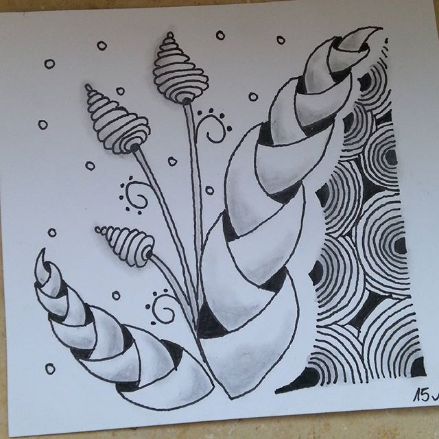 Zentangle Malen Selber Diy Anleitung Einfach Muster Pattern