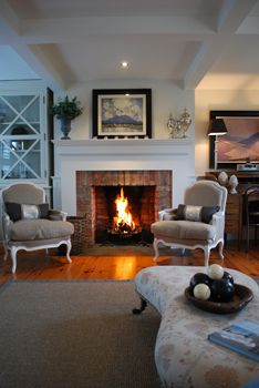Thefeatherednestni Com White Mantle Home Living Room