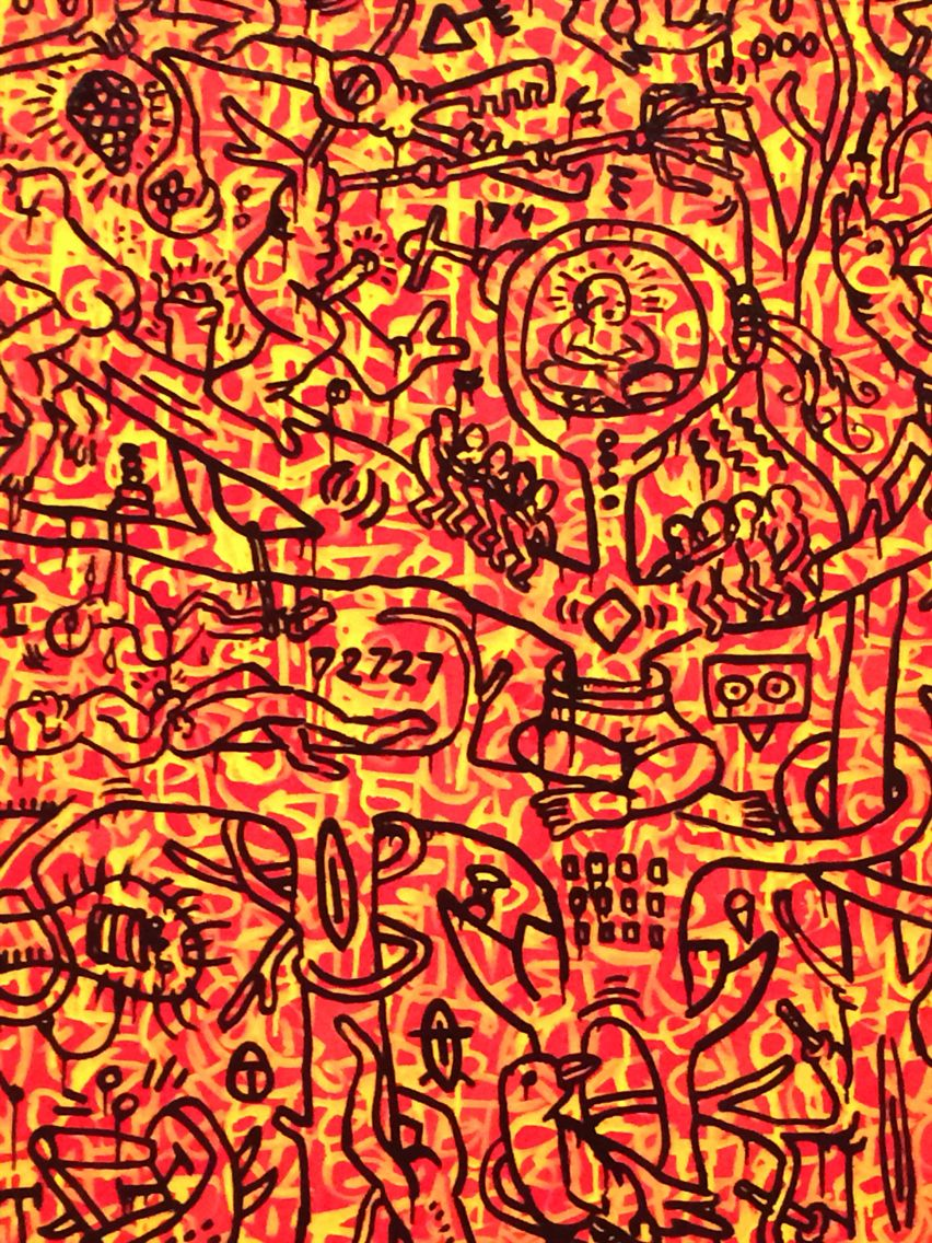 The Last Rain Forest By Keith Haring 1989 Installation Art