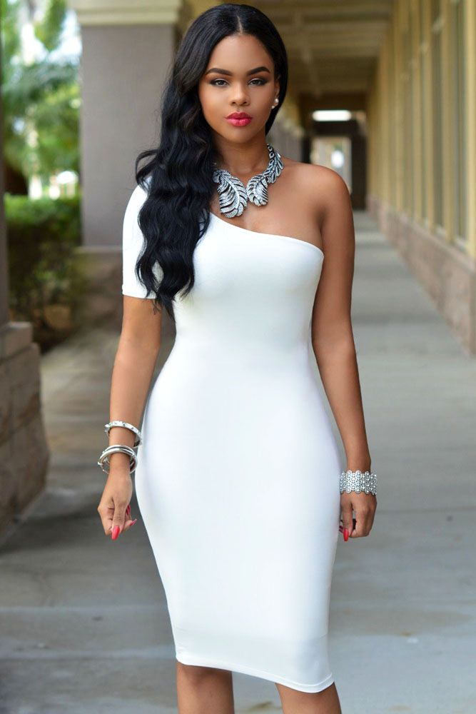 c471839ec7aa What Jewelry Do You Wear With A One Shoulder Dress