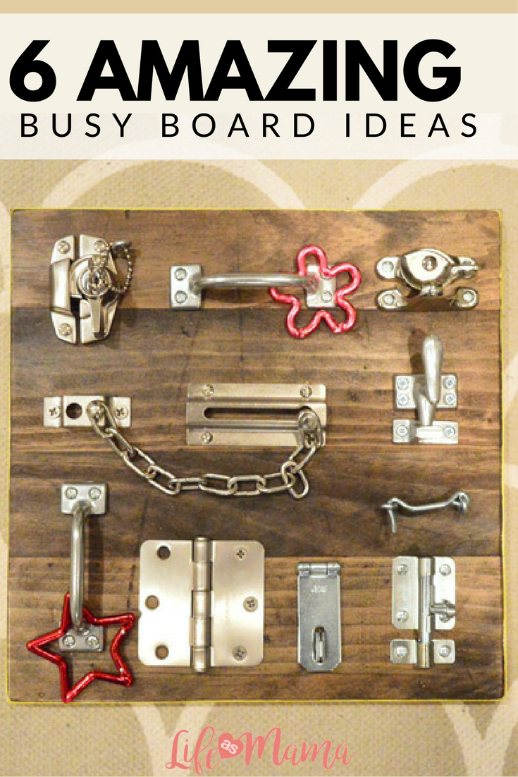 6 Amazing Busy Board Ideas Busy Boards For Toddlers Diy Busy