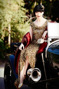 Miss Fisher's Murder Mysteries- I want every item of her clothing!! The 1920's were IT! If you had $$