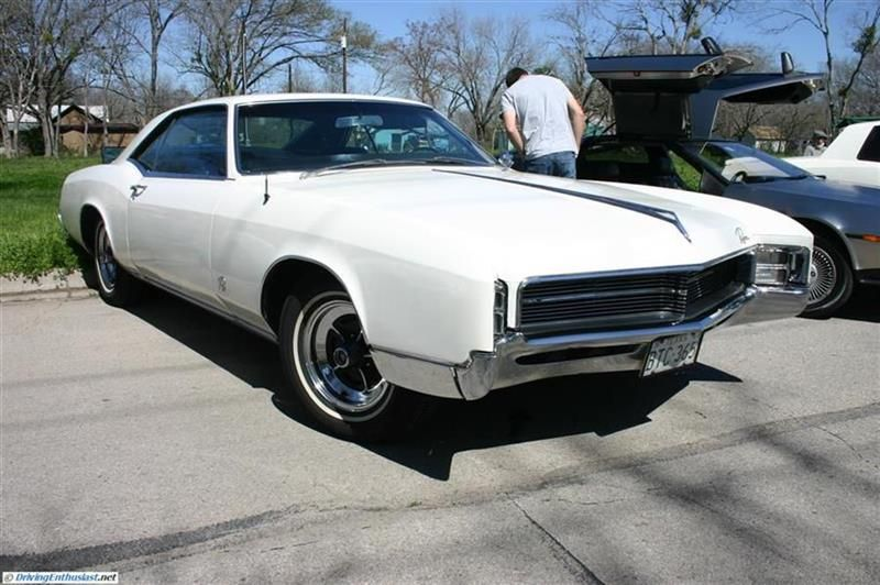 1967 Buick Riviera. As seen at the March 2012 Cars and Coffee Austin TX USA.