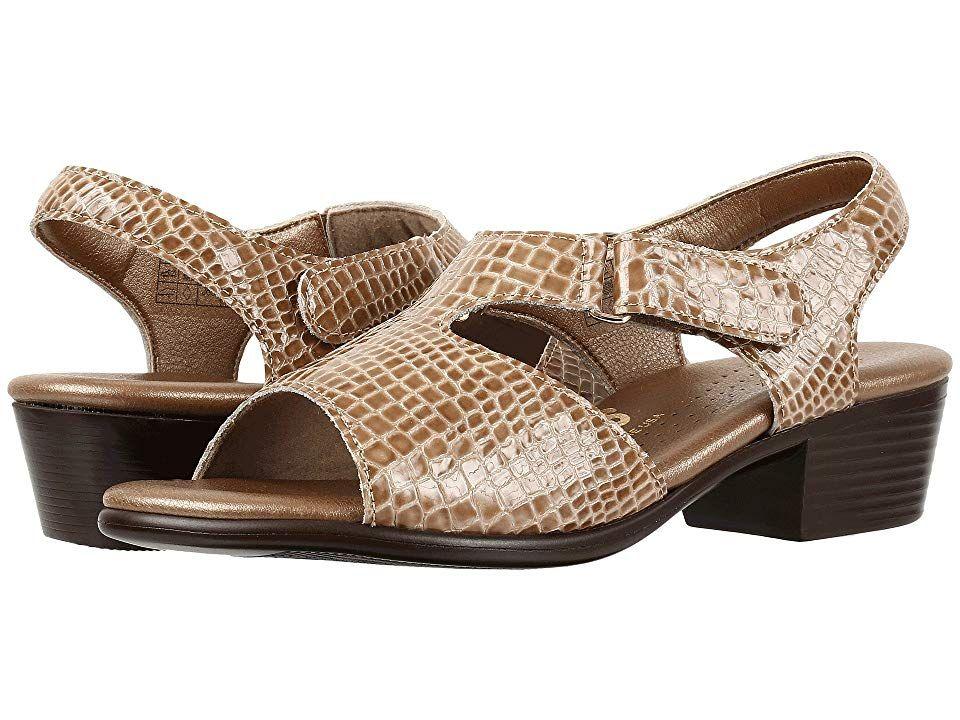 57bf48632fde SAS Suntimer Women s Shoes Beige Croc Wide Shoes