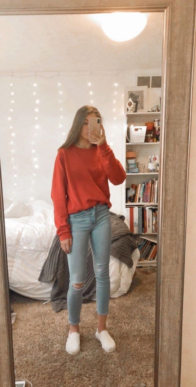 50 Favorite Spring School Outfits 2019 To Inspire You #schooloutfits » Lacalaba... #schooloutfit