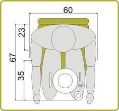 medidas mínimas mesa de 4 personas | Apartamentos, Comedores y Mesas