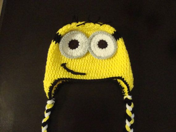 Despicable Me Minion  crochet hat