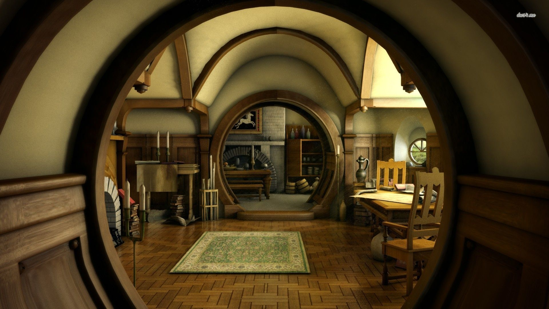 16453 hobbit house the hobbit 1920x1080 movie wallpaper for How to start building a house