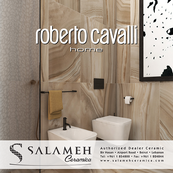 only the most prestigious brands at salameh ceramica check the latest roberto cavalli models