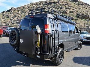 2016 Chevrolet Express 3500 Diesel Quigley Sportsmobile Cyber Grey Metallic Chevy Van Chevy Conversion Van Chevy Express