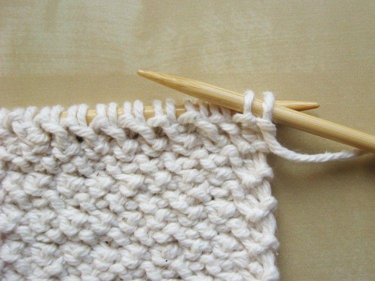 Diagonal Basketweave Knitting Pattern   Pinterest   Puntadas