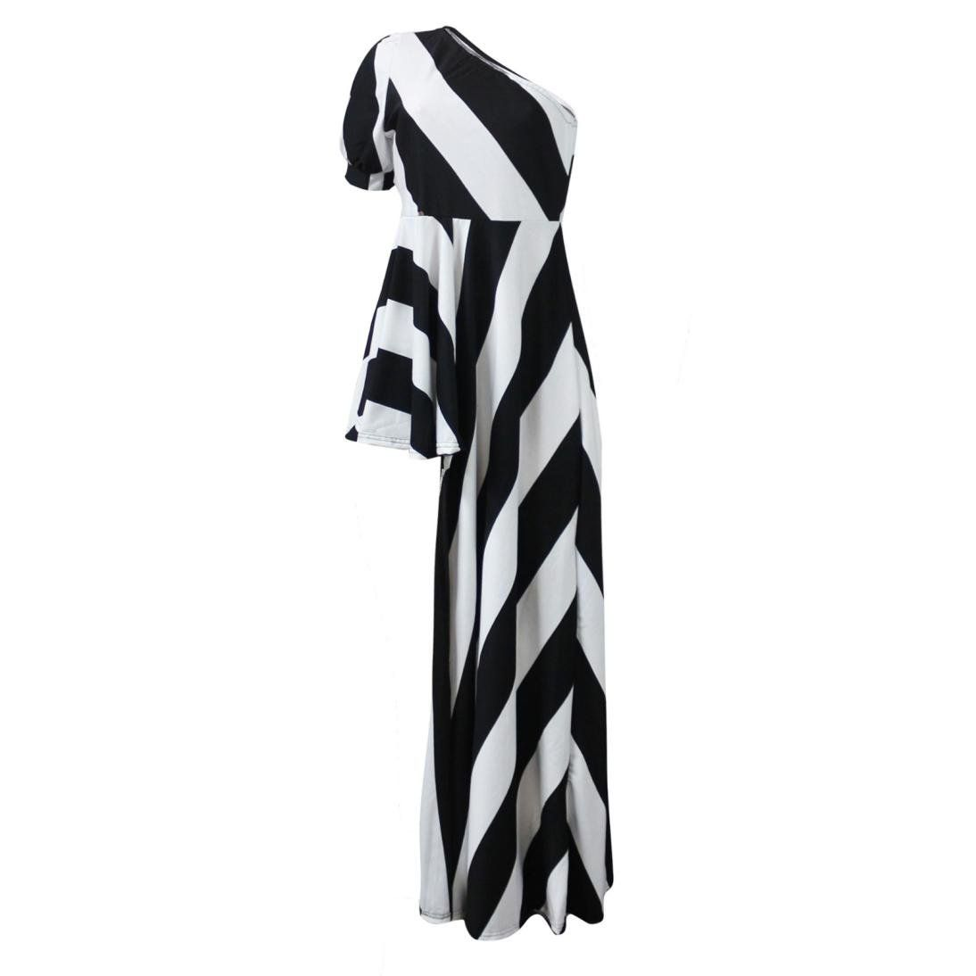 484ab3472dc20 Maternity Styles - cool maternity leggings   Owill Women Sexy Sheath Off  Shoulder Party Clubwear Single Shoulder Stripe Dress White L     Click  picture for ...